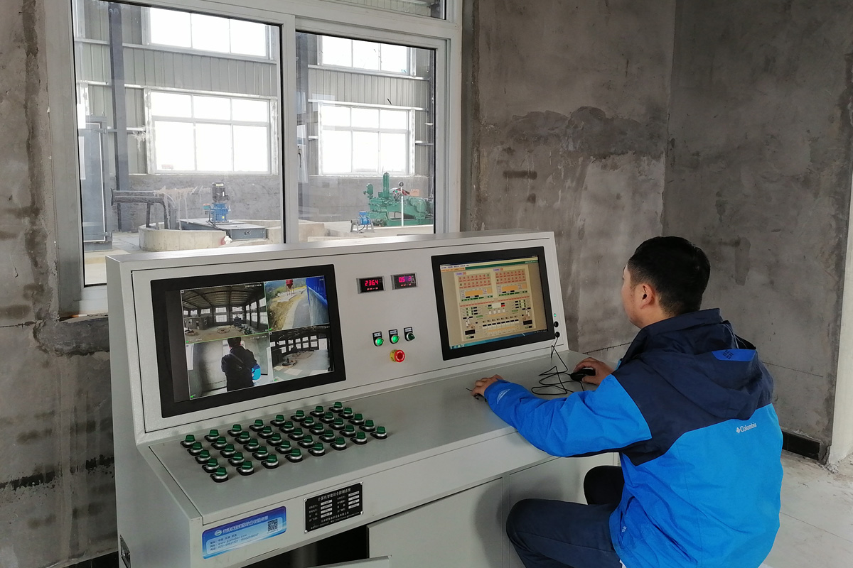 <span>河南蹬槽煤矿防治水混合浆液注浆站</span>