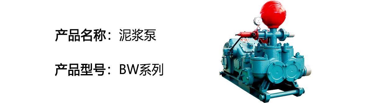 BW型泥浆泵