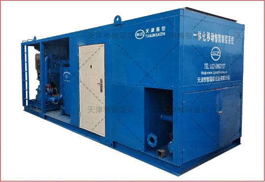 一体化移动高速涡流制浆系统产品示意图