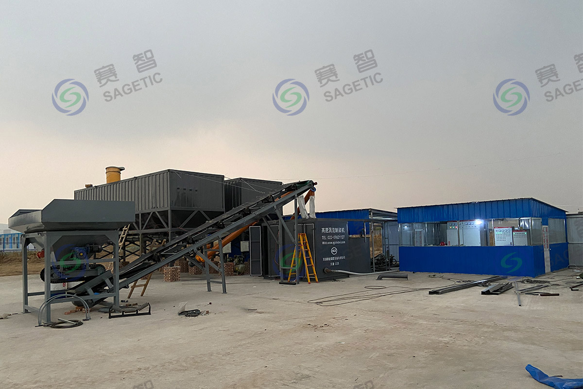 <p> 山西交科岩土淮北项目高速涡流制浆系统 </p>