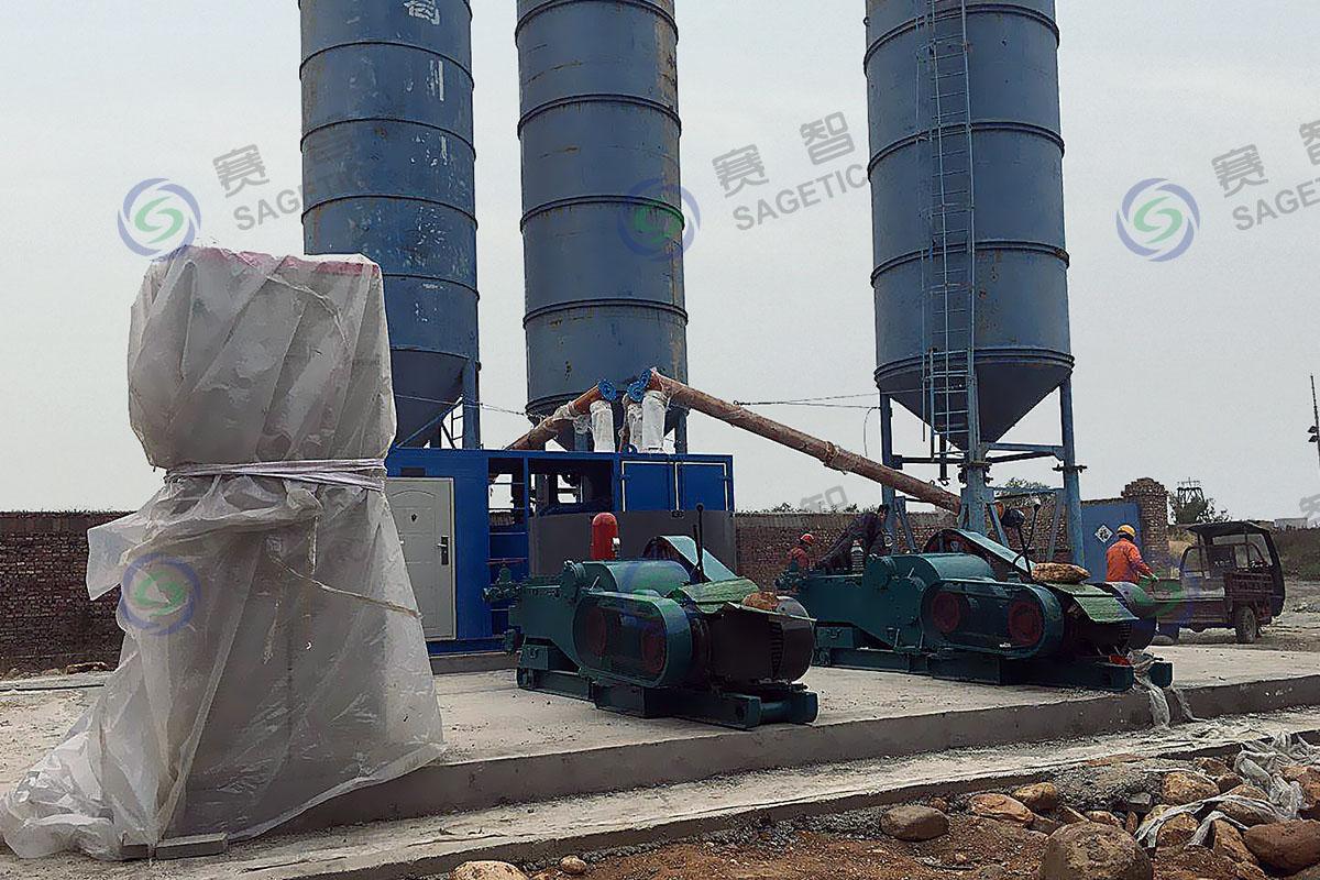 <p> 邯郸信恒钻探工程有限公司郭二庄矿注浆站 </p>