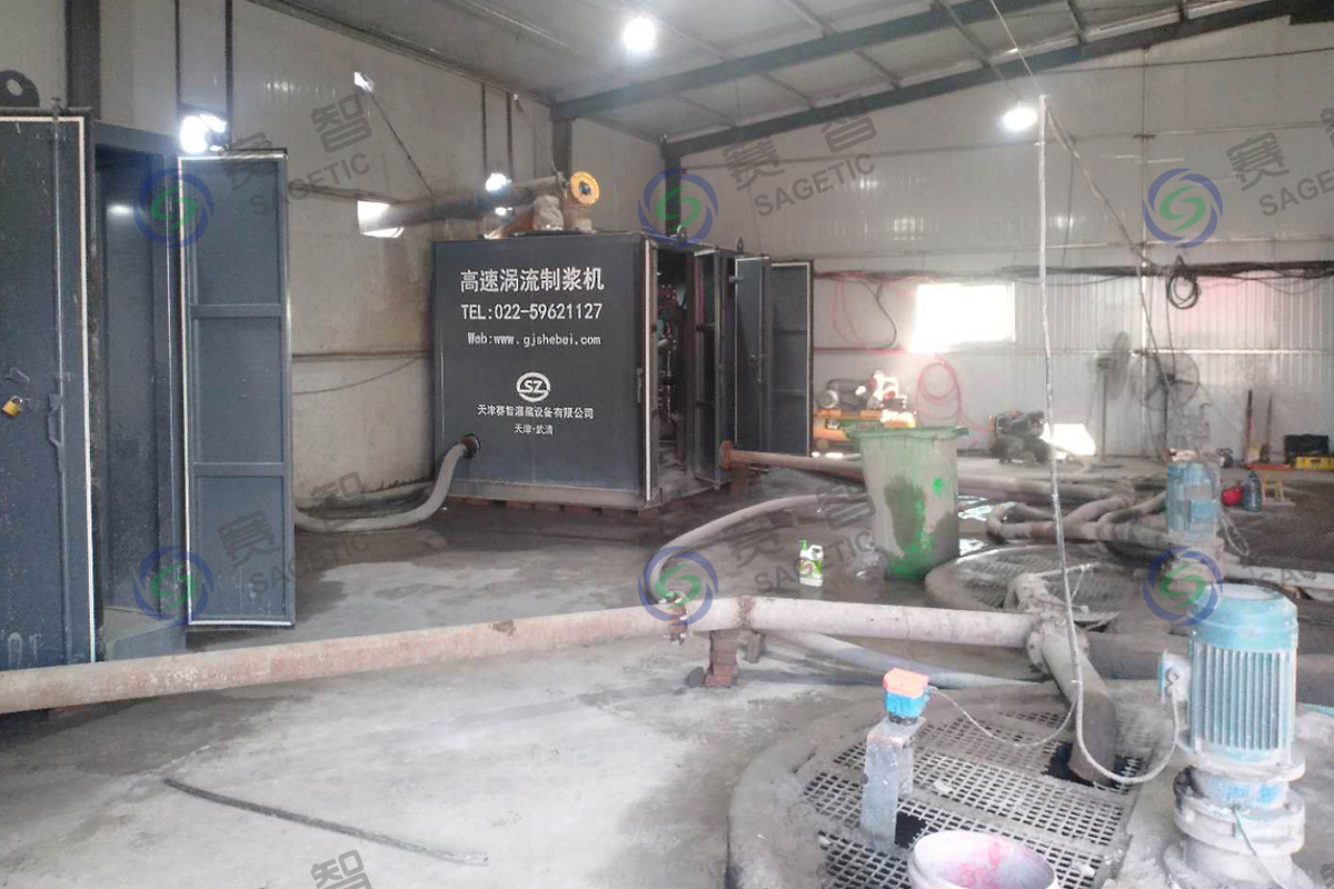 <p> 河南豫中地質勘察工程公司智能化注漿站 </p>
