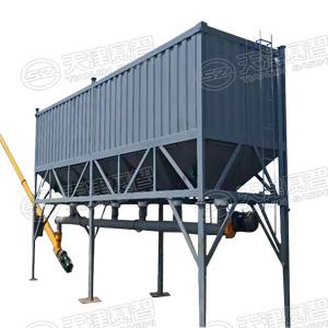 可移动式卧式储料仓