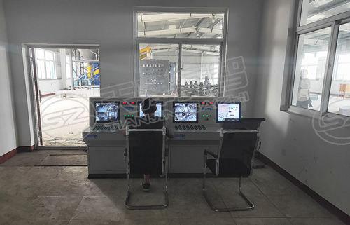 煤礦自動制漿站壓漿系統