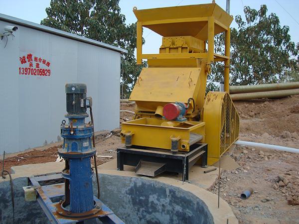 粘土制浆系统