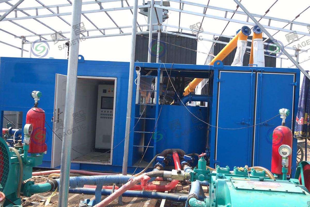 河南豫中地質勘察工程公司智能化注漿站設備及系統