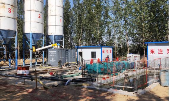 矿用自动化制浆站系统