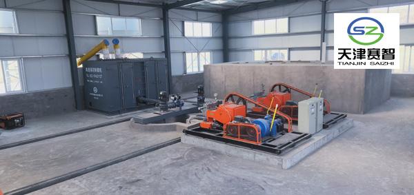 采矿集中制浆站系统