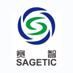 天津賽智公司標志豎式組合