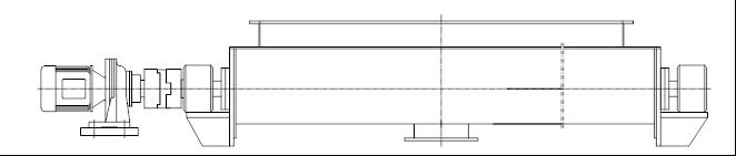 螺旋输送机结构图