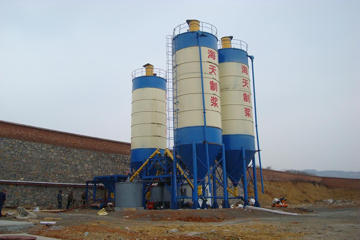 山西晋煤集团海天煤业自动水泥制浆站