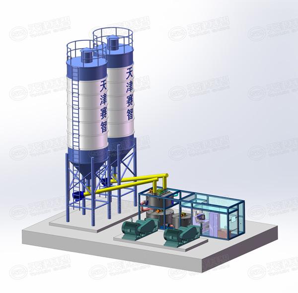 新型一体化可移动式制浆系统