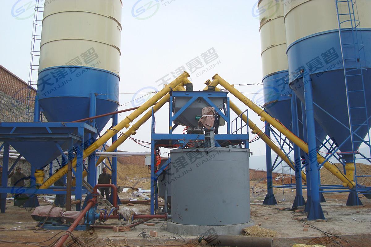山西晉煤集團海天煤業水泥制漿站