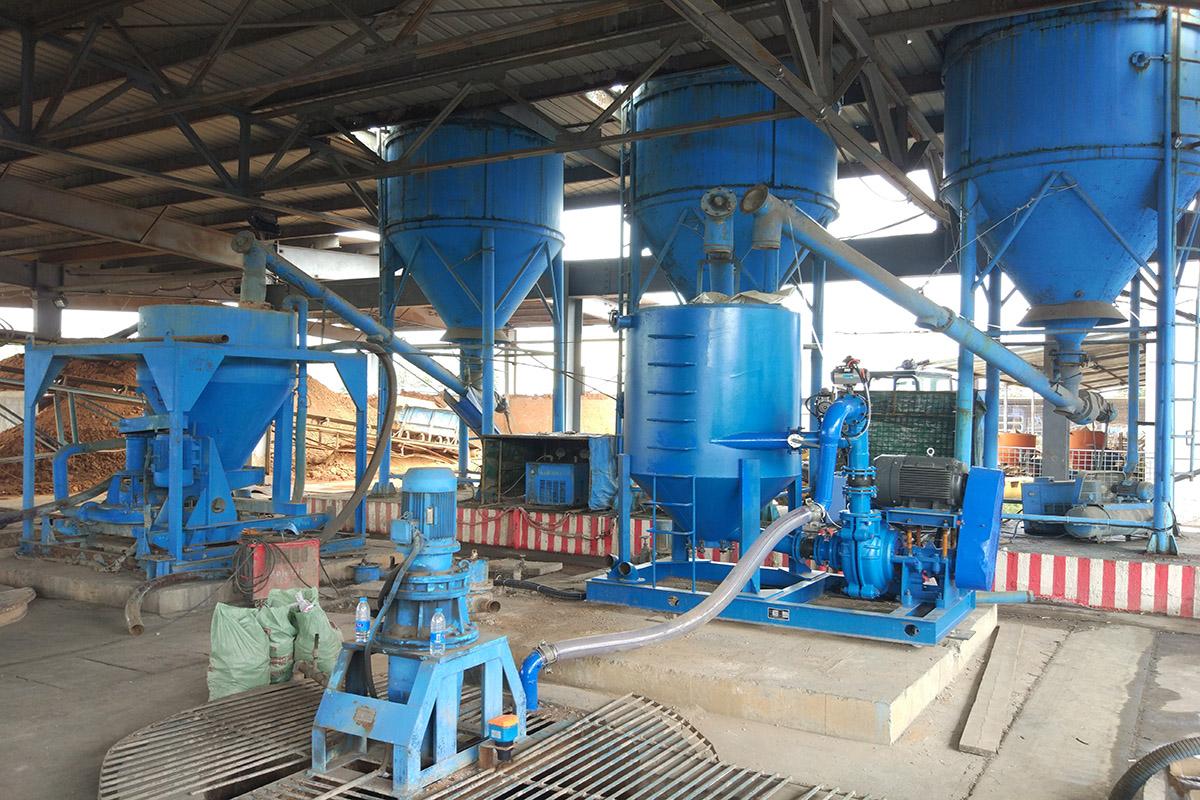 河南大有能源孟津煤矿注浆站改造升级