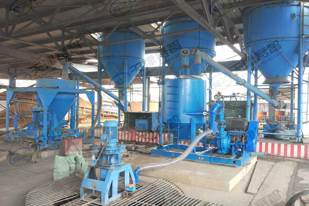 大有能源孟津煤礦注漿站改造升級